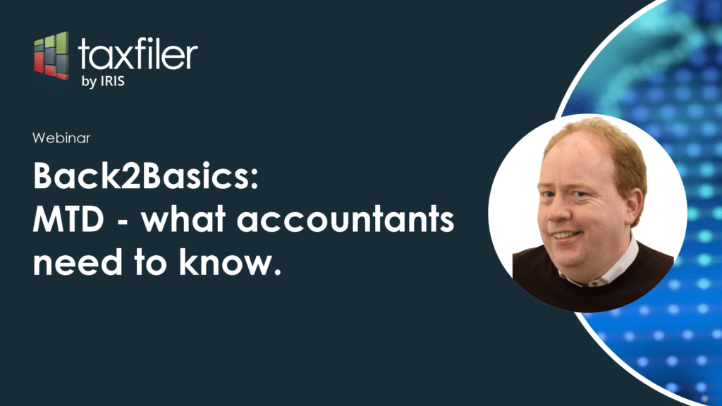 Back2Basics: MTD - What accountants need to know